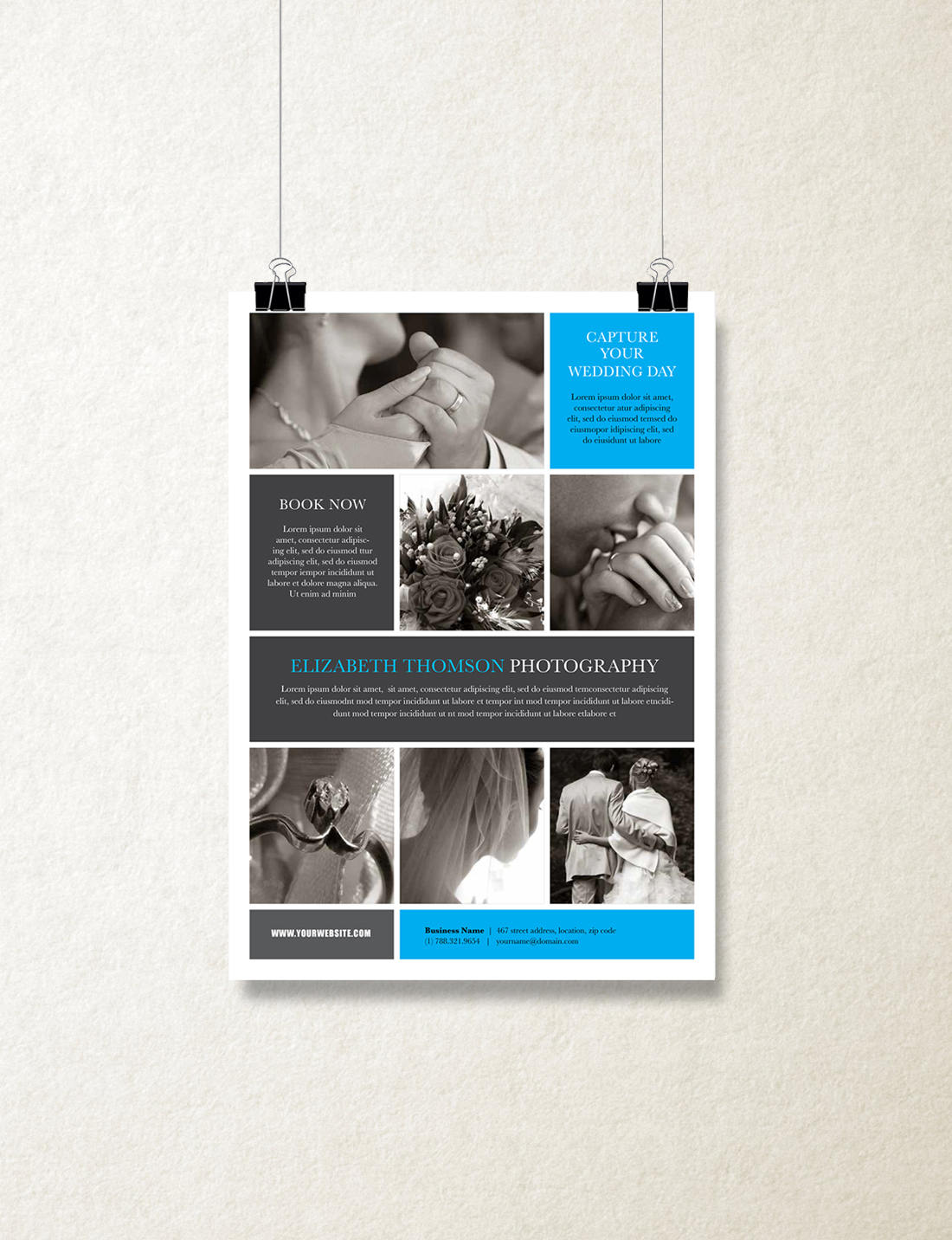 single page brochure template orion rumble design store