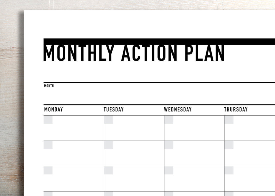 It is a photo of Printable Monthly Planner with regard to september